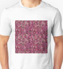 "Charles Rennie Mackintosh ""Roses and teardrops"" edited 2. Unisex T-Shirt"