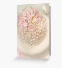 Wedding Cake Greeting Card