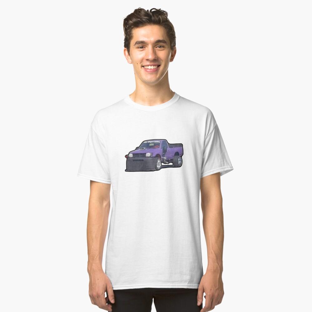Purple Car Classic T-Shirt Front
