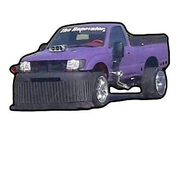 Purple Car by nicemusicdude