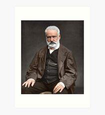 Lámina artística Victor Hugo
