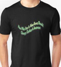 Man in glasshouse Unisex T-Shirt
