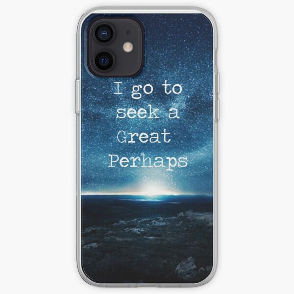 A Great Perhaps--Looking For Alaska iPhone Soft Case