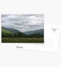 Scottish sun Postcards