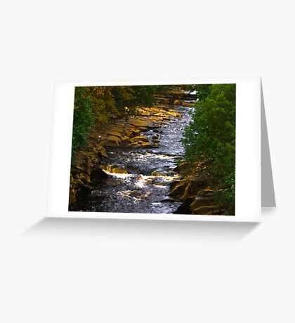 River Swale at Keld Greeting Card