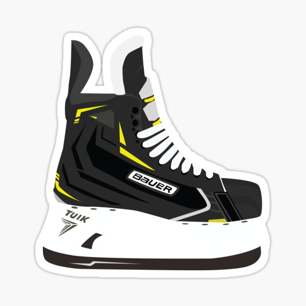 Hockey Skate Sticker