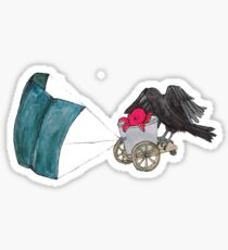 Chariots of Cephalopod  Sticker