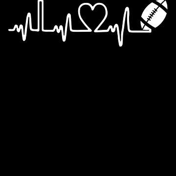 Football Heartbeat by MikeMcGreg