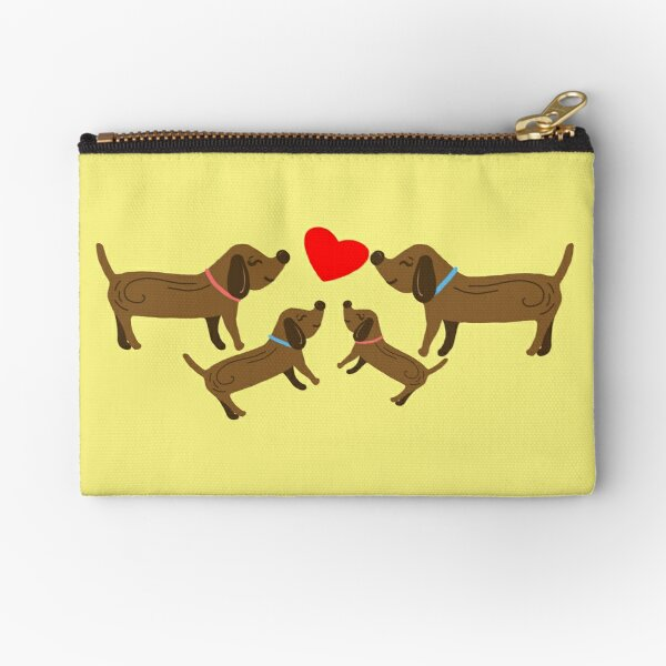 Family, Puppies Zipper Pouch