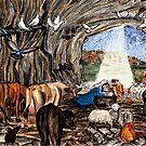The Christmas Nativity by EuniceWilkie