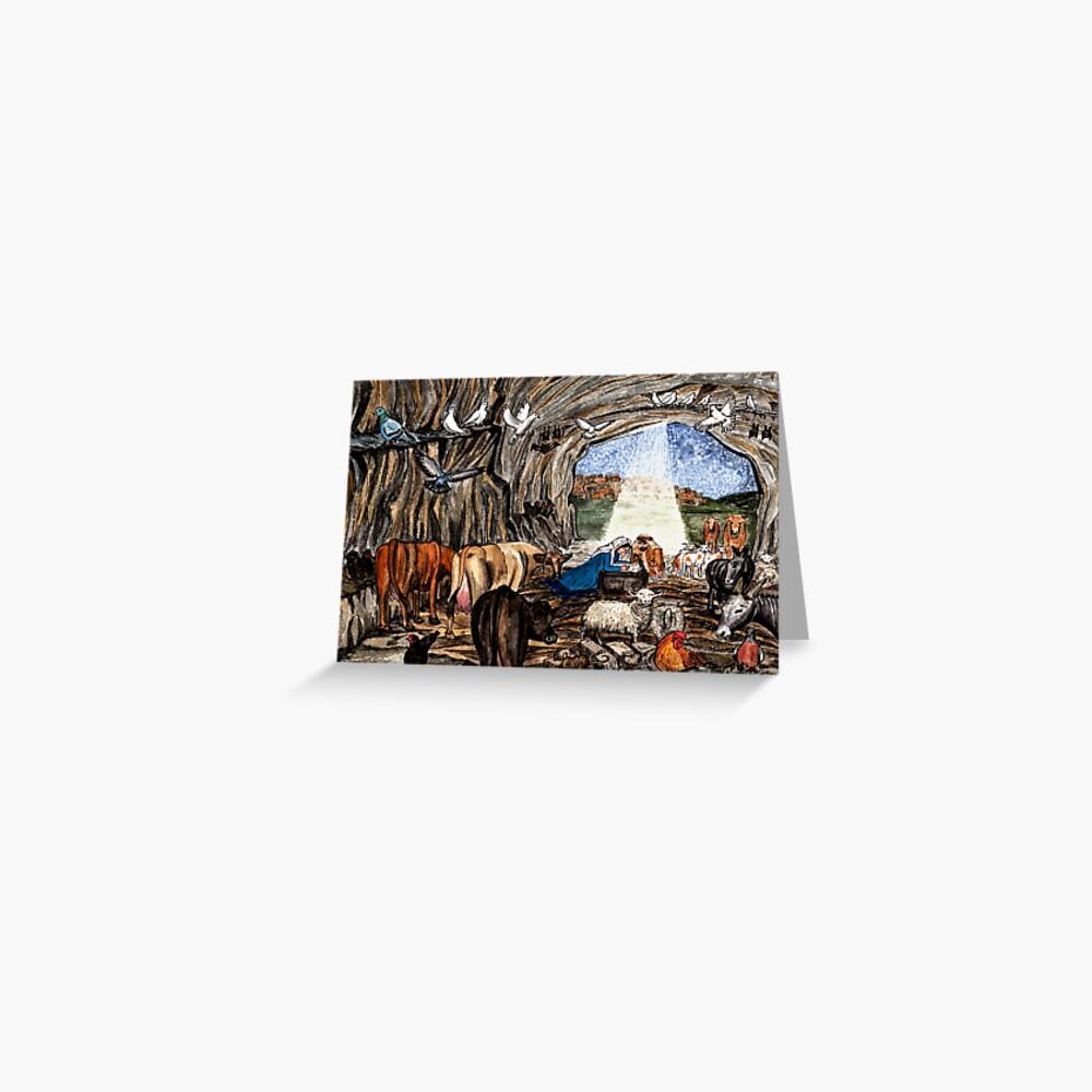 The Christmas Nativity Greeting Card