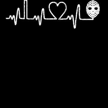 Hockey Heartbeat by MikeMcGreg