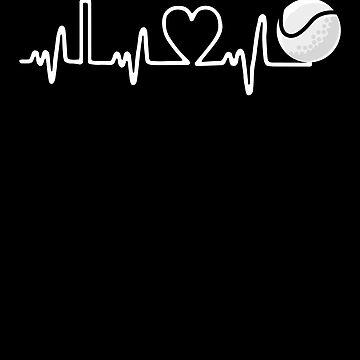 Tennis Heartbeat by MikeMcGreg