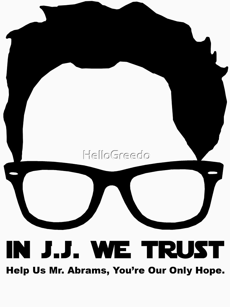 In J.J. We Trust - Stencil | Unisex T-Shirt