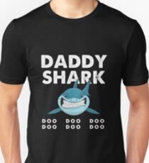 Daddy Shark T-Shirt Doo Doo Doo | Father's Day Gift Shirt Slim Fit T-Shirt
