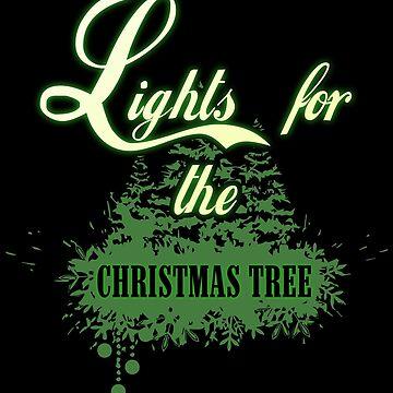 Lights on the Christmas tree by NovaPaint