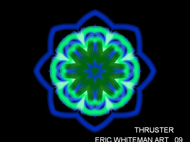 ( THRUSTER ) ERIC WHITEMAN  by ericwhiteman