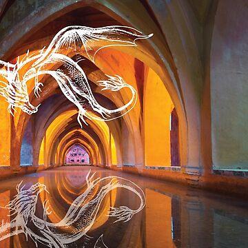 World of the Dragon by GeometricLove