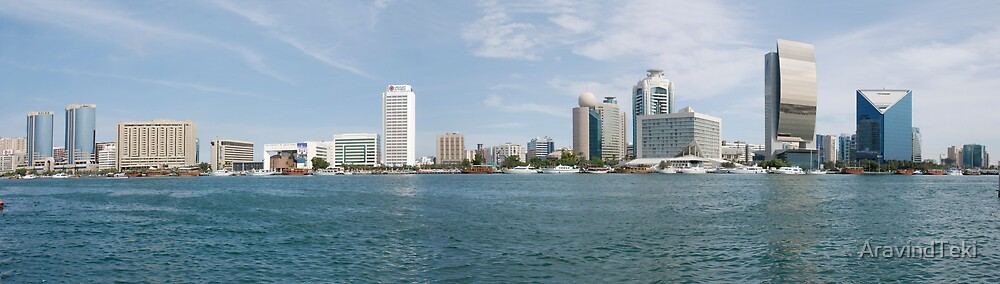 dubai creek by AravindTeki