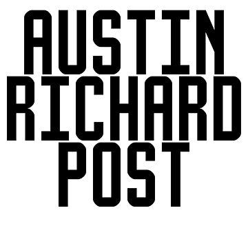 Austin Richard Post Always Tired Under Eye Tattoo Under Boobs by TyroDesign