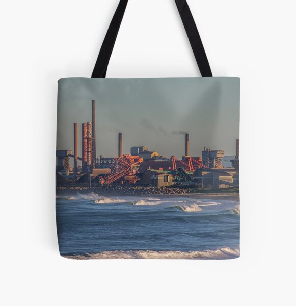 Industry World All Over Print Tote Bag