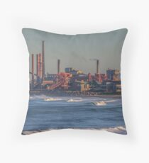 Industry World Throw Pillow