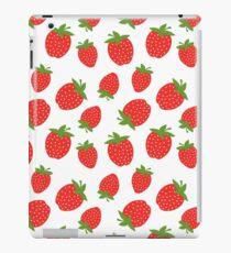 Red Strawberries iPad Case/Skin