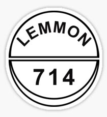 Lemmon 714 Quaaludes Ludes Sticker