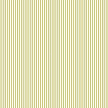 Soft Fern Green and White Cabana Stripe  by podartist
