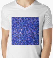 "Charles Rennie Mackintosh ""Roses and teardrops"" edited 7. Men's V-Neck T-Shirt"