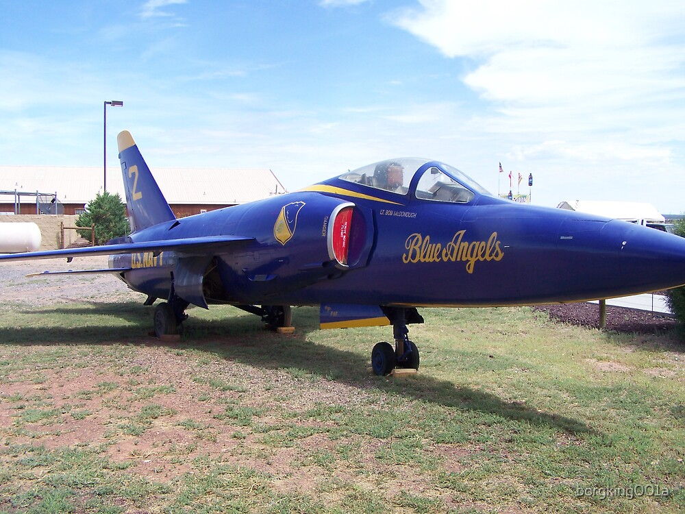 US Navy Blue Angel by borgking001a