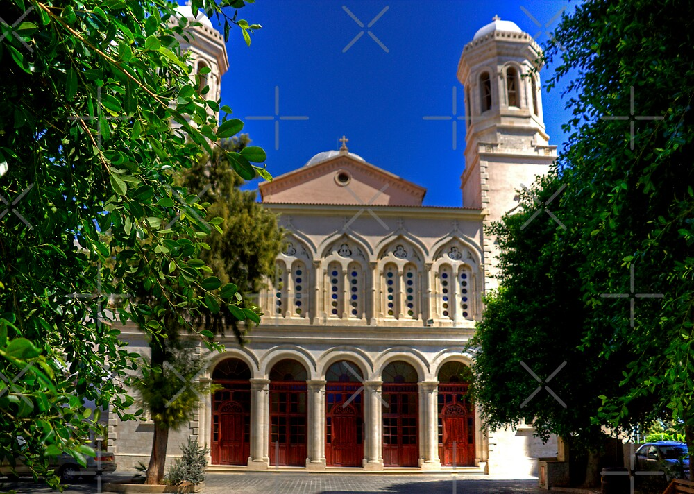 Agia Napa Cathedral by Tom Gomez