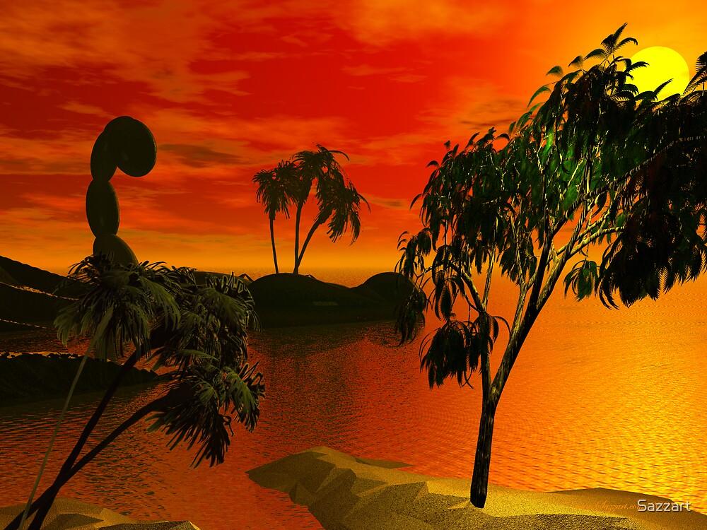 Isle of Scorpio by Sazzart