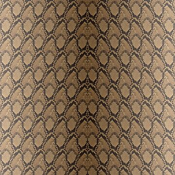 Bronze Brown and Black Python Snake Skin Reptile Scales by podartist