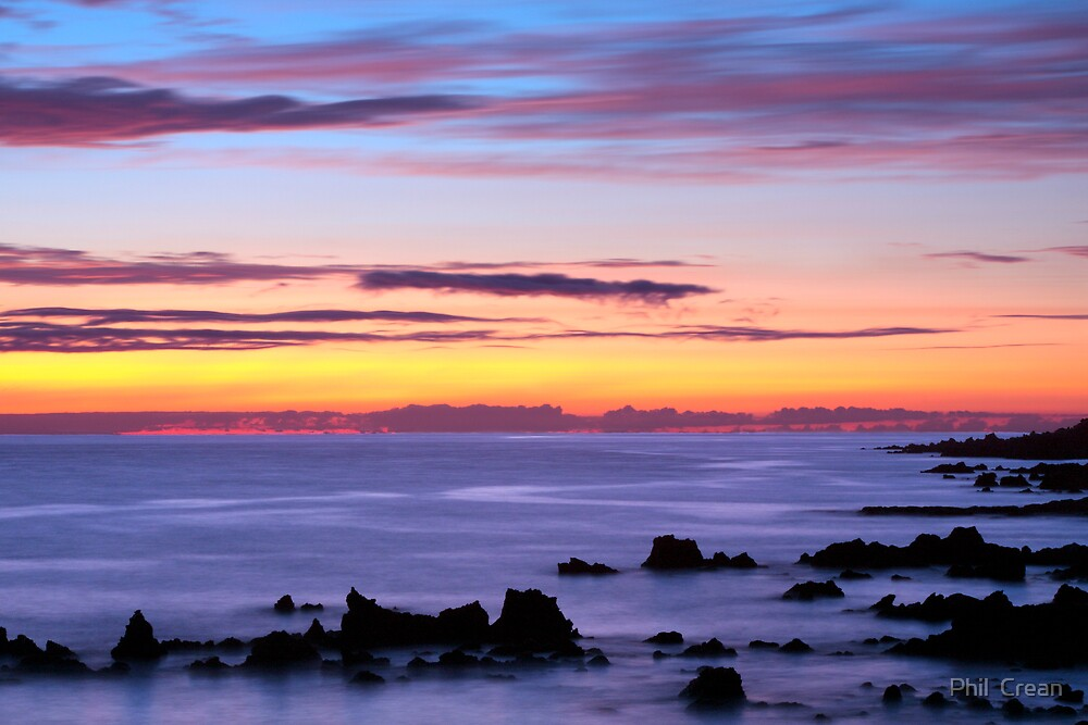 Winter Sunset by Phil  Crean