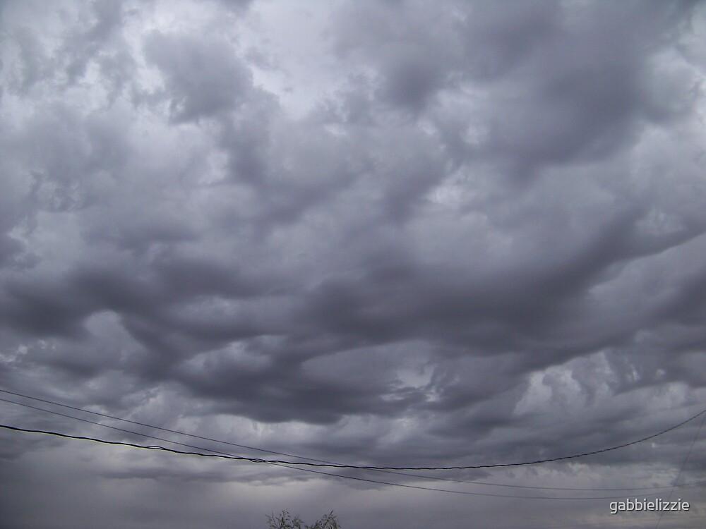 clouds to the ground by gabbielizzie