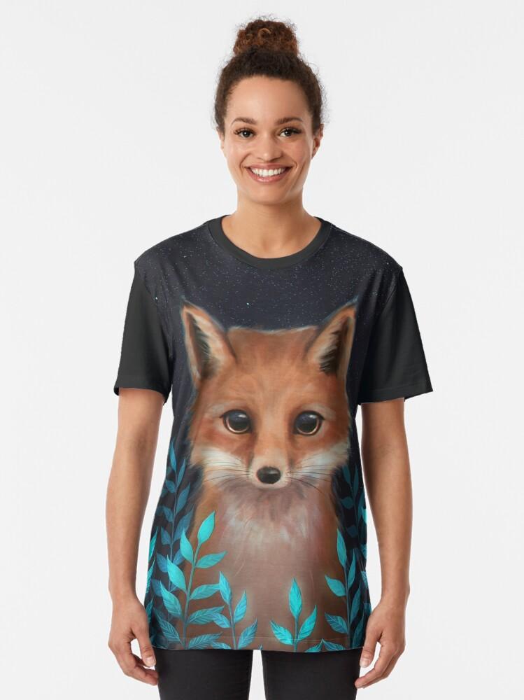 Alternate view of Fox Graphic T-Shirt