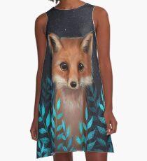 Fuchs A-Linien Kleid