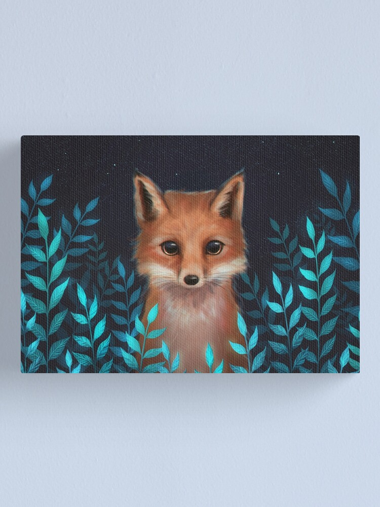 Alternate view of Fox Canvas Print