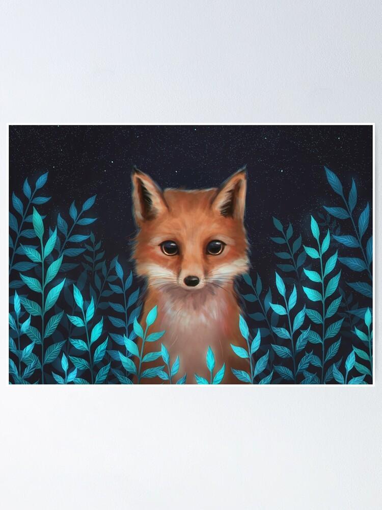 Alternate view of Fox Poster