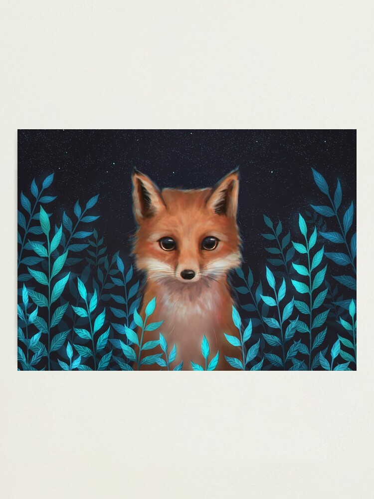 Alternate view of Fox Photographic Print