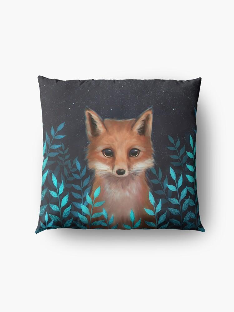Alternate view of Fox Floor Pillow