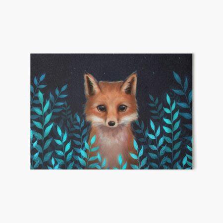 Fox Art Board Print
