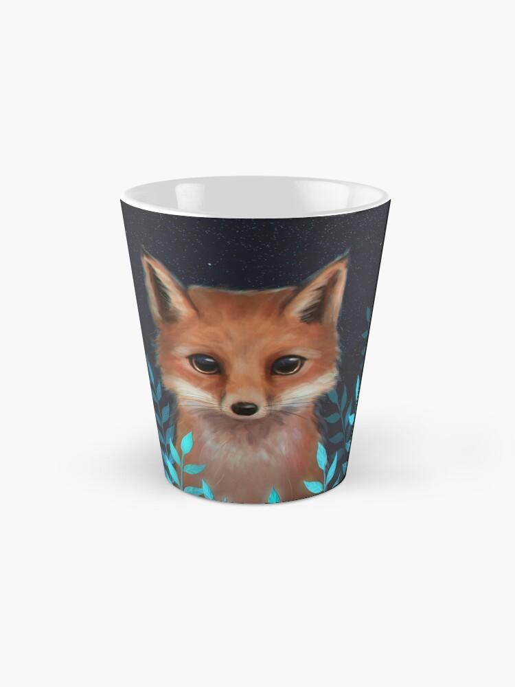 Alternate view of Fox Mug