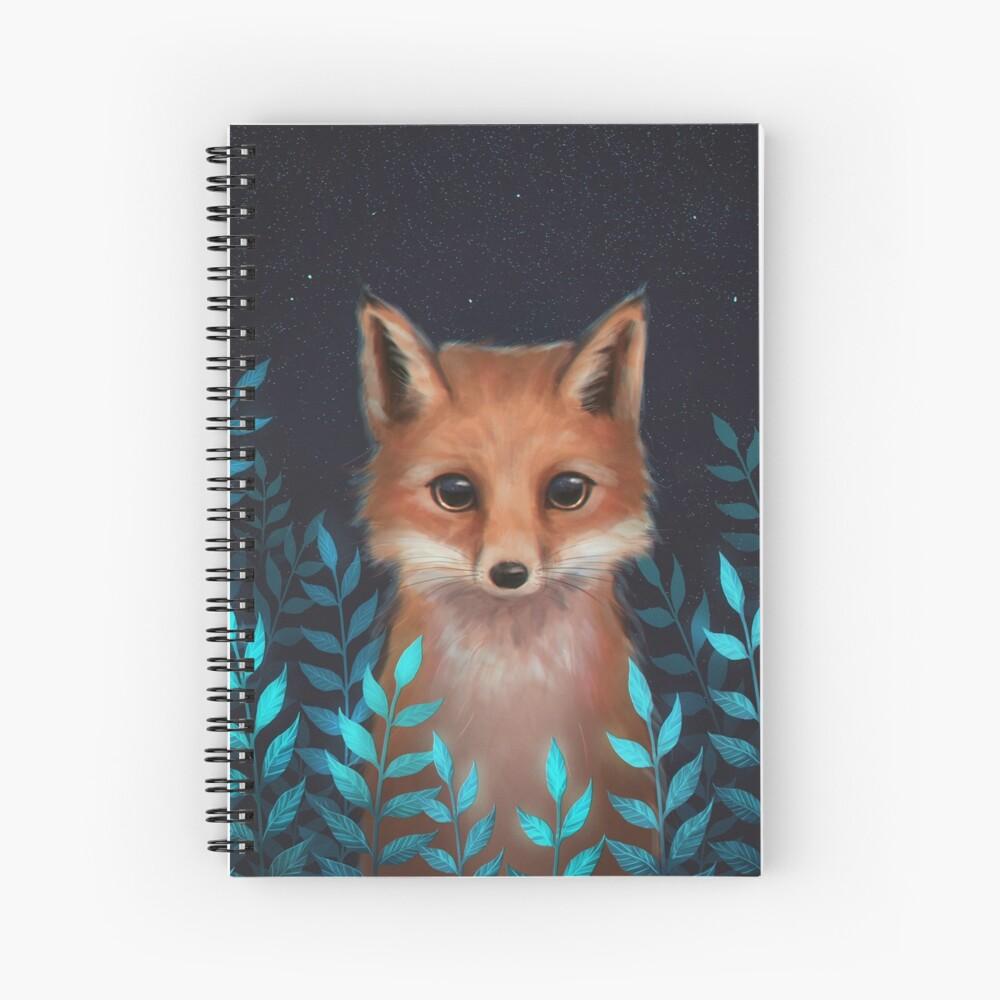 Fox Spiral Notebook