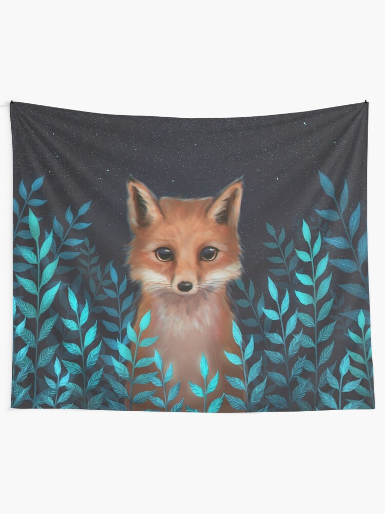 Alternate view of Fox Tapestry