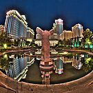 Reflecting on Caesar's Palace by toby snelgrove  IPA