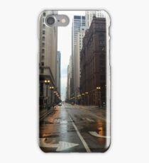 Rainy Chicago Streets iPhone Case/Skin