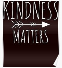 Kindness Matters Drawing Posters Redbubble