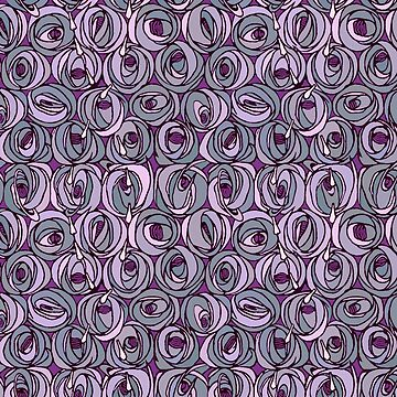 "Charles Rennie Mackintosh ""Roses and teardrops"" edited 10. by ALD1"